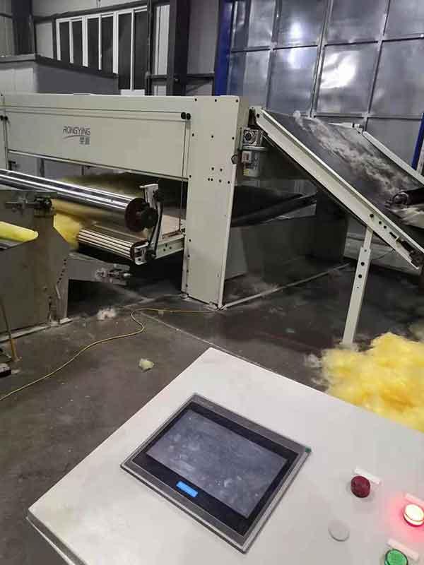 实拍!淮安客户复购高温常温两用过滤材料生产线发货